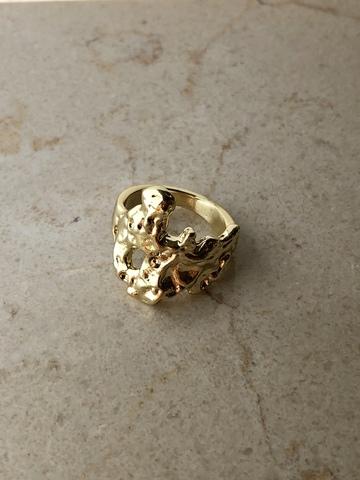 Кольцо Родана, позолота