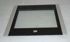 Внешняя панель дверки духовки плиты Беко 210300903