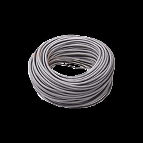 Трос ПВХ серый d 6 мм