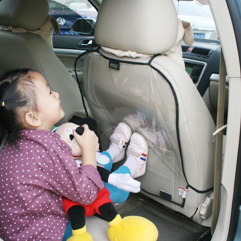 Защита спинки сидения от грязных ног ребенка фото