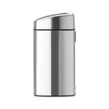 Прямоугольный мусорный бак Touch Bin (10 л, артикул 477225, производитель - Brabantia, фото 3