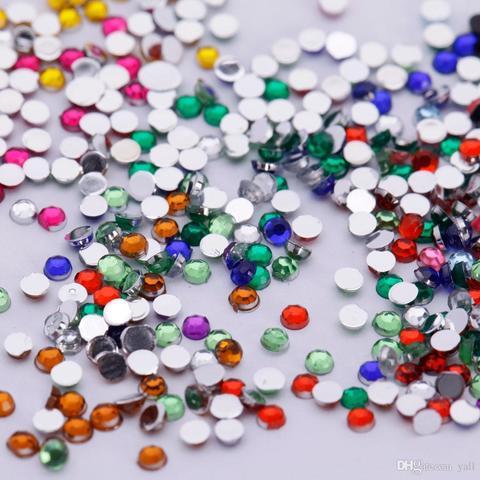Стразы color Mix  ss4