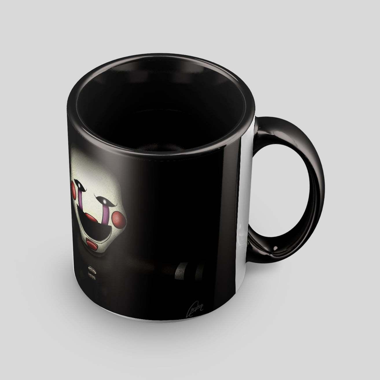 Чёрная кружка с Марионеткой (1 ракурс) - купить в интернет-магазине kinoshop24.ru