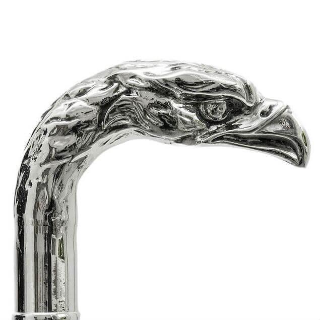 Зонт-трость Pasotti -6768-1- W18- Silver Eagle