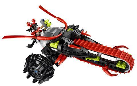 LEGO Ninjago: Воин на мотоцикле 70501 — Warrior Bike — Лего Ниндзяго