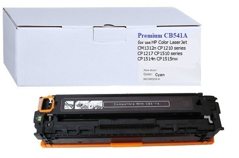 Картридж Premium CB541A №125A