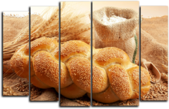 "Модульная картина ""Свежий хлеб"""