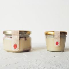 Крем-мёд с земляникой