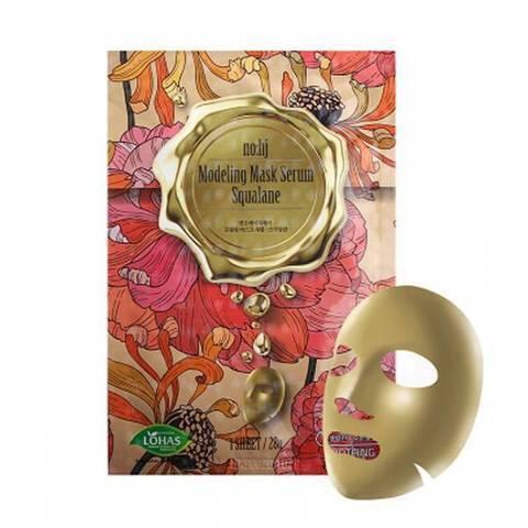 Тканевая маска для упругости кожи со скваланом NOHJ Modeling Mask Serum Squalane