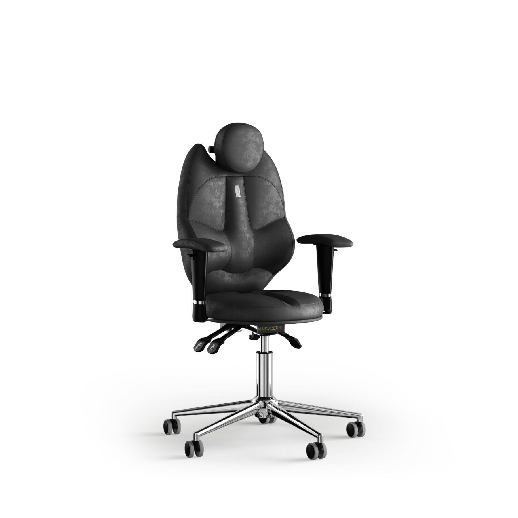 Кресло KULIK SYSTEM TRIO Антара с подголовником без строчки