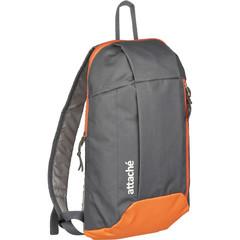 Рюкзак Attache облегченный 395x100x230 мм серый/оранжевый