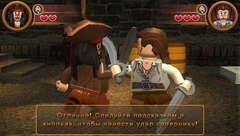 PSP LEGO Пираты Карибского Моря: Видеоигра (русская документация, б/у)