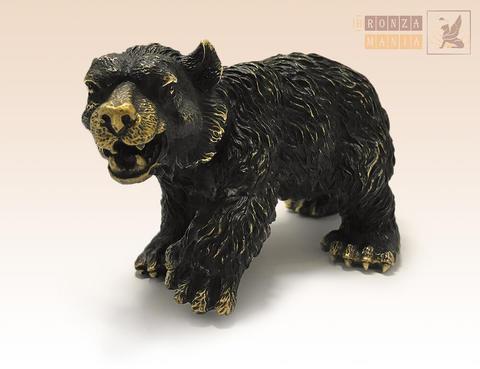 статуэтка Медведь бурый средний