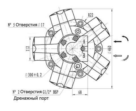 Гидромотор IPM6-1200
