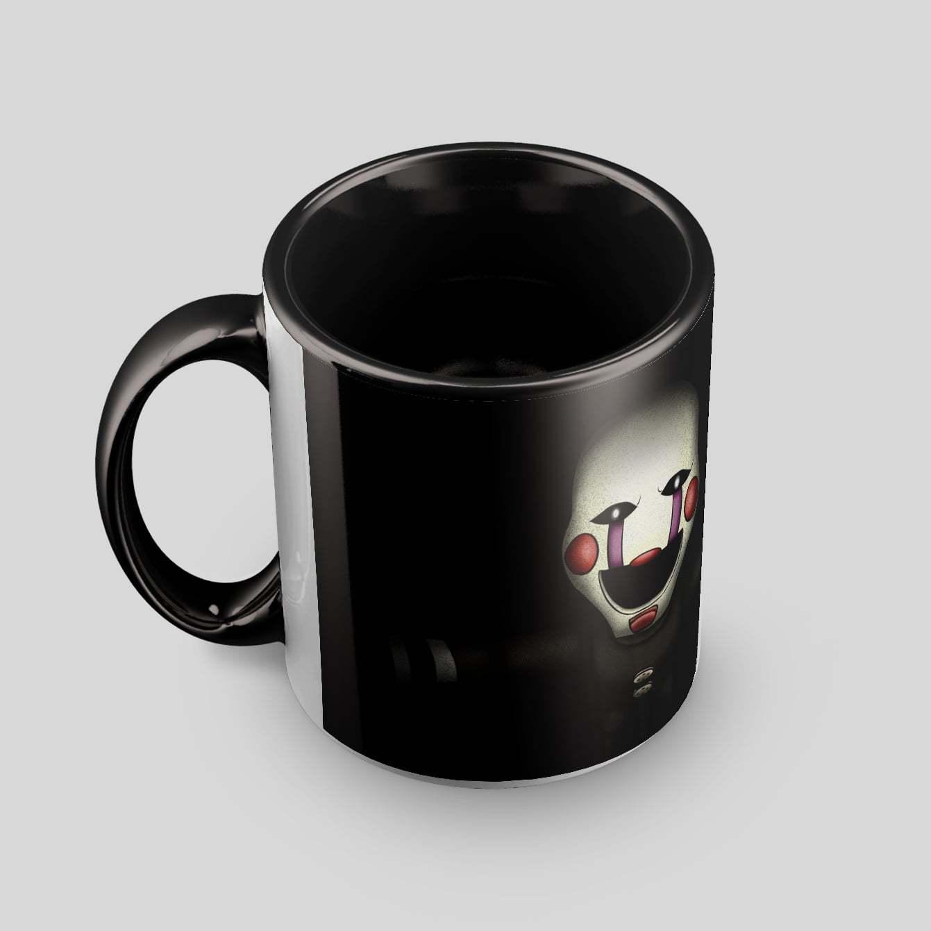 Чёрная кружка с Марионеткой (4 ракурс) - купить в интернет-магазине kinoshop24.ru