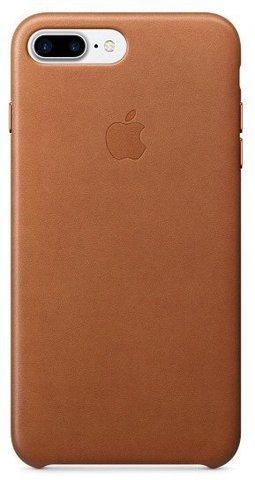 Чехол iPhone 7 Plus Leather Case /saddle brown/
