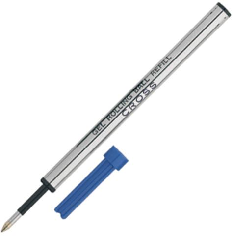 Cross Стержень для ручки-роллера, M, синий