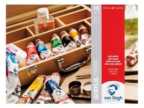 Альбом для акрила VAN GOGH 370г/кв.м 300х400мм 10л