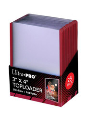 Ultra-Pro Toploader 3x4 Red