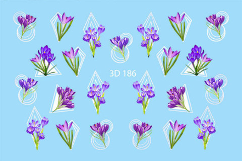 3D слайдер для ногтей, 3D - 186