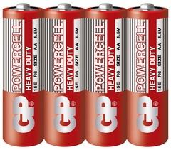 Батарейки GP 15E-S4 Powercell R6, АА, трей 40/200/1000