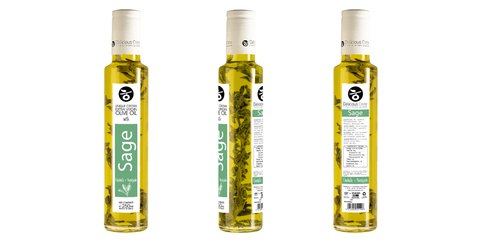 Оливковое масло с шалфеем Delicious Crete 250 мл