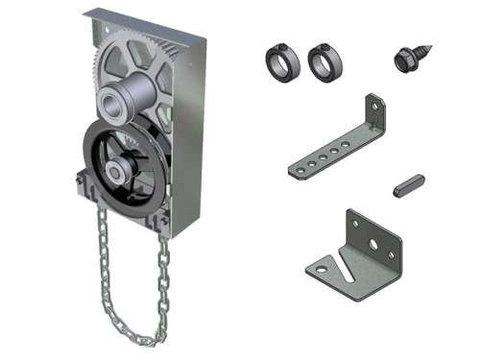 Цепной редуктор марки DOCO для секционных ворот всех типов