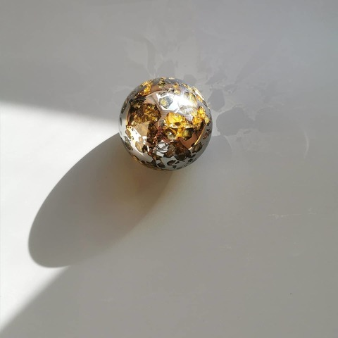 Шар из метеорита Сеймчан