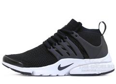 Кроссовки Мужские Nike Air Presto Ultra Flyknit Black White