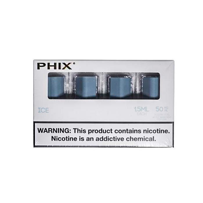 Сменный Картридж для PHIX.ФИКС Айс х4, 1.5 мл 50 мг