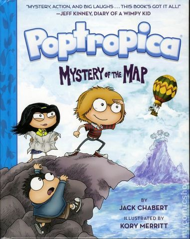 Poptropica. Mystery of the Map HC