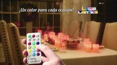 Набор светодиодных свечей Luma Candles Color Changing