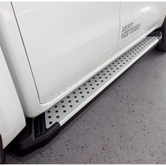 Боковые пороги S4 с крепежом Volkswagen T5 (2003-2015)