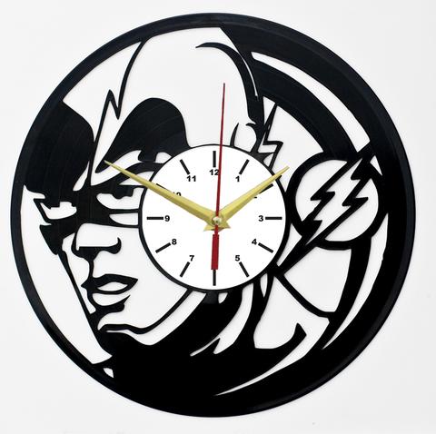 Флэш Часы из Пластинки