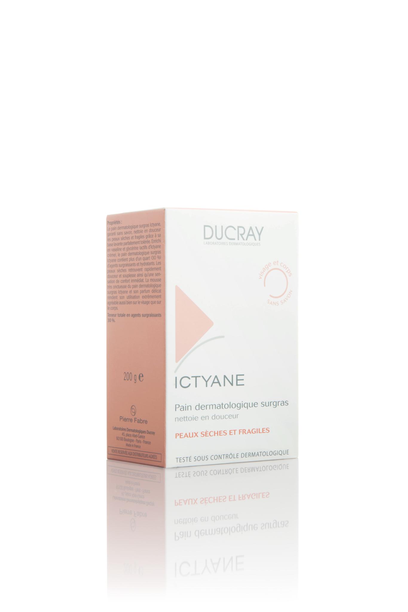 Ducray Ictyane мыло 200 г.