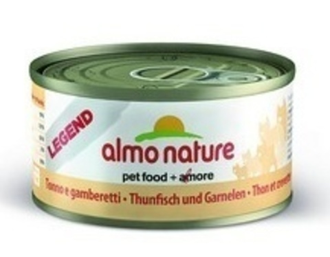 Консервы (банка) Almo Nature Legend Adult Cat Tuna&Shrimps