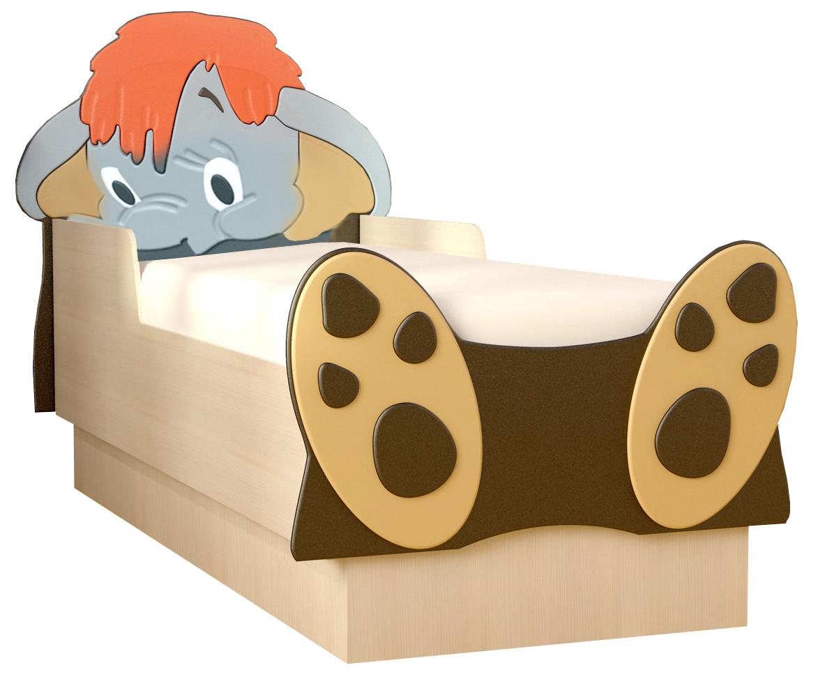 Кровать детская Мамонтенок