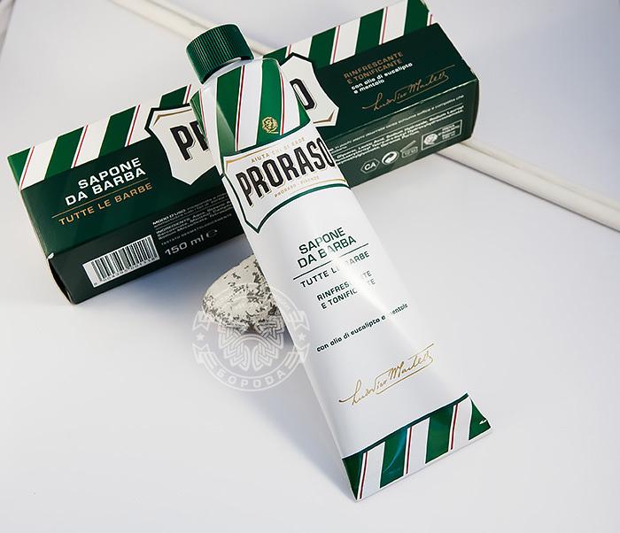 RAZ400111 Крем для бритья «Proraso» с эвкалиптом и ментолом (150 мл)