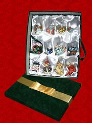 Подарочный набор мини-штофов №2 - 12шт