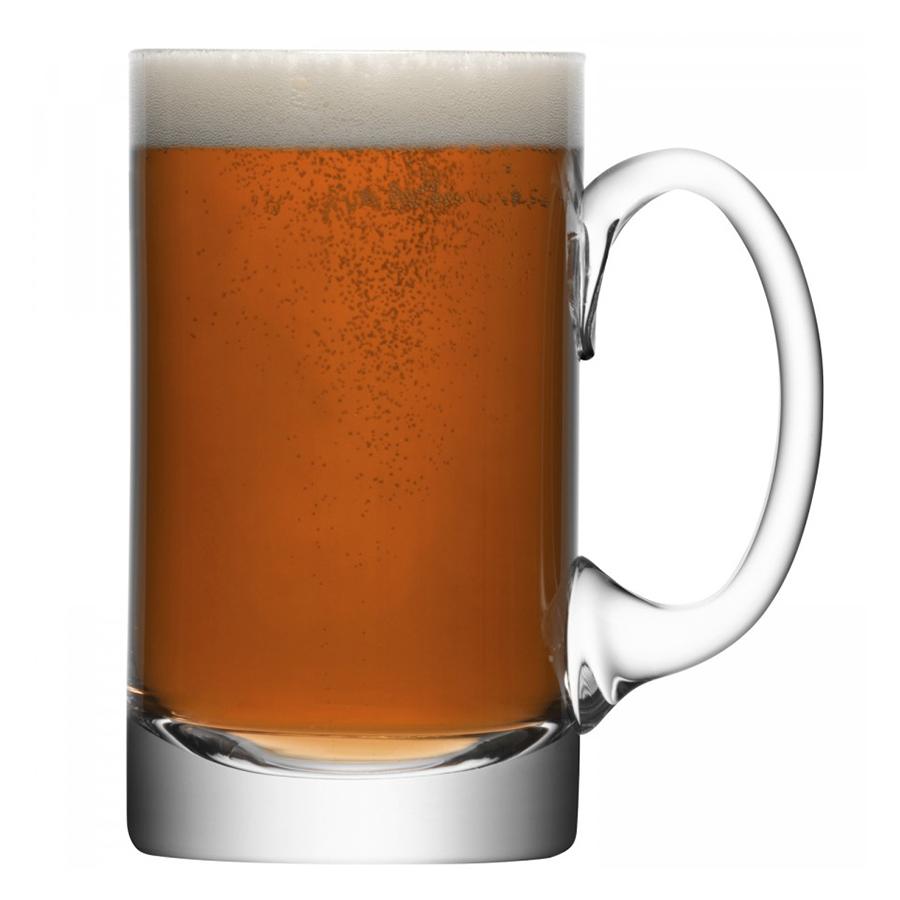Кружка для пива прямая Bar 750 мл LSA International G108-27-991 | Купить в Москве, СПб и с доставкой по всей России | Интернет магазин www.Kitchen-Devices.ru