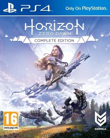 PS4 Horizon Zero Dawn. Complete Edition (русская версия, из комплекта)