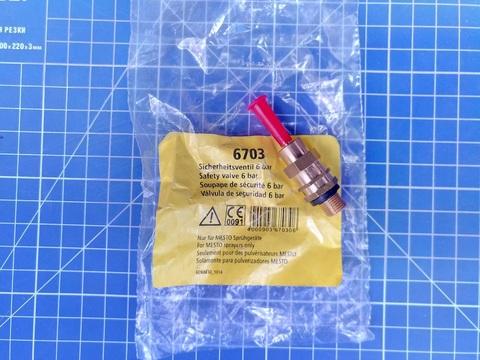 MESTO Пневмо-предохранительный клапан, 6бар, №6703 (для FERRUM PLUS)