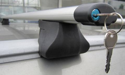 Багажник Интер Интегра с аэро поперечиной с замком 130 см.