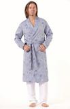 Мужской халат с рисунком Zimmerli