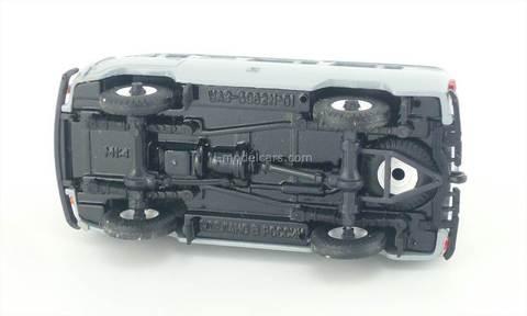 UAZ-3962 gray Agat Mossar Tantal 1:43