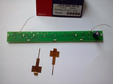Освещение вагонов BS Beleuchtung A-Mod.Wg 08996