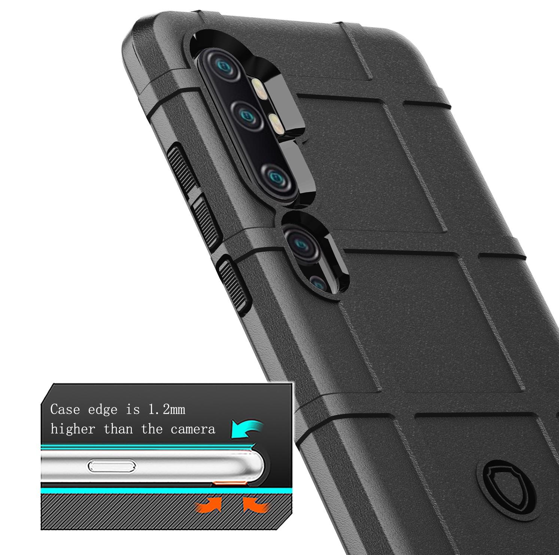 Чехол Xiaomi Mi Note 10 и Mi Note 10 Pro цвет Black (черный), серия Armor, Caseport