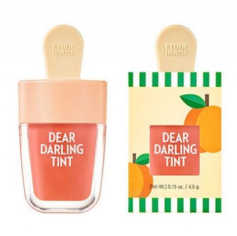 Увлажняющий тинт для губ Красный Абрикос ETUDE HOUSE Dear Darling Water Gel Tint Apricot Red 4,5 гр