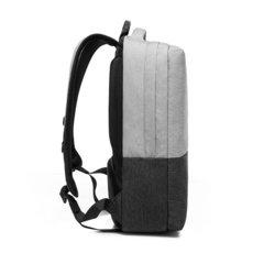 Рюкзак плоский для ноутбука 15,6 KAKA 2237 серый