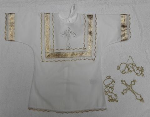 Крестильный набор с полотенцем 100/100см
